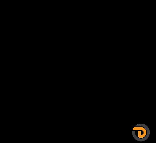 DAIDALOS® - Edelstahl-Handlauf Emil, Nutrohr ø48,3x1,5mm quadratisch, Glasleistenrohr