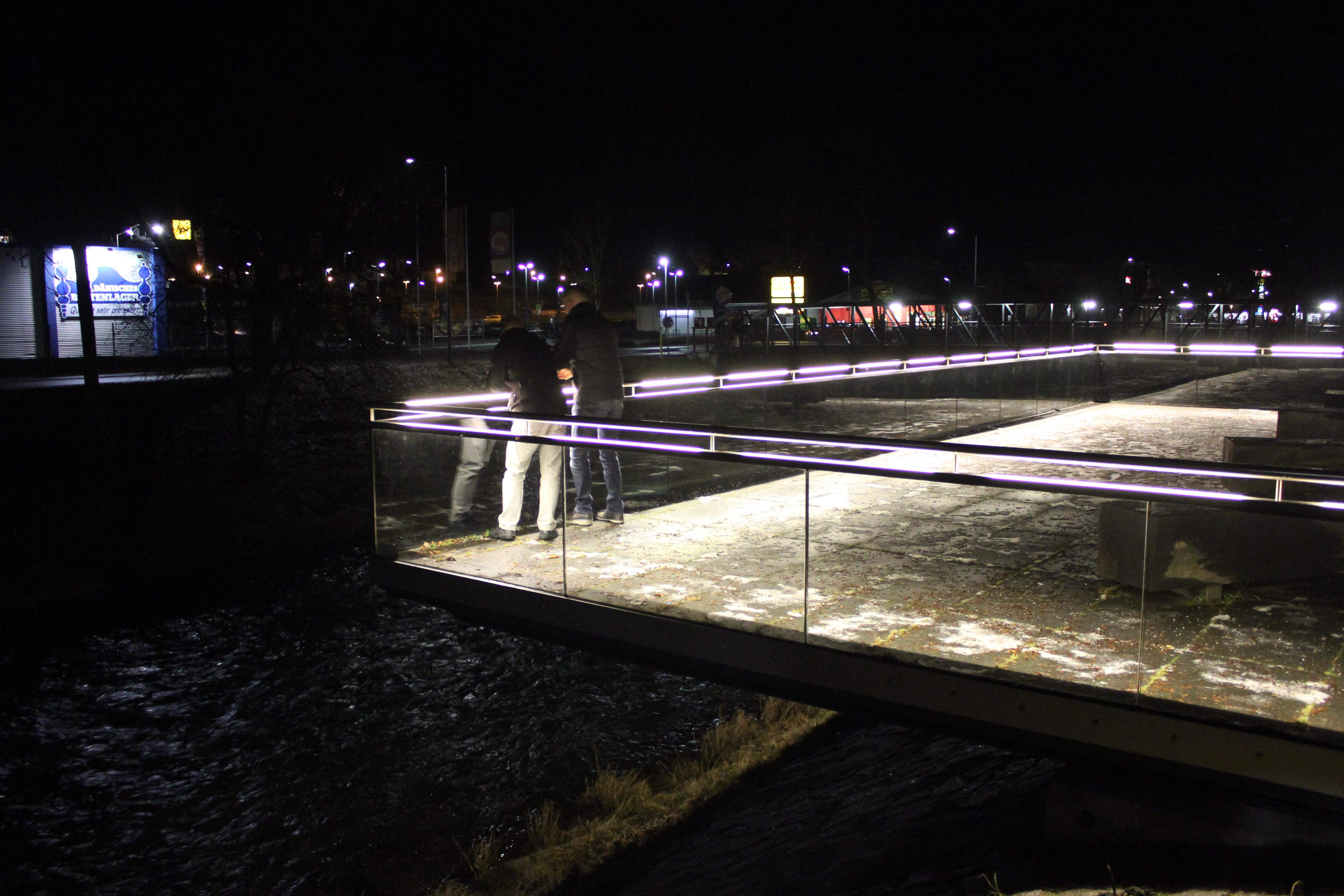 DAIDALOS® - Edelstahl Handlauf mit Glasbrüstung - Oberndorf am Neckar